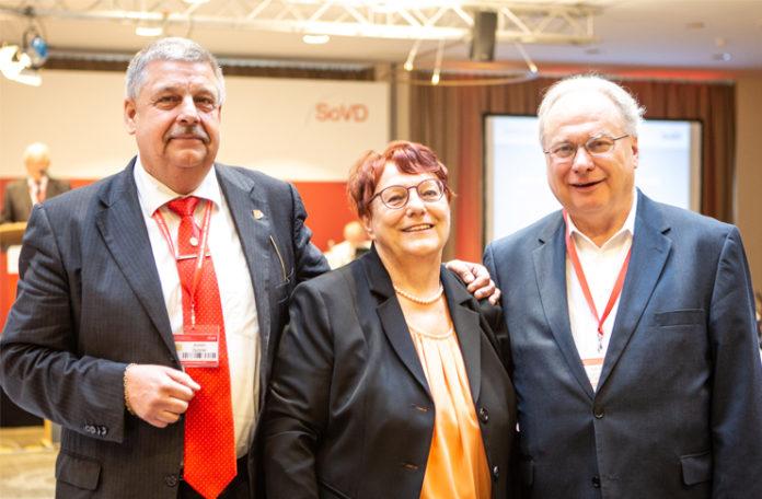 Der neue Vorstand des Sozialverbandes Niedersachsen positioniert sich mit der