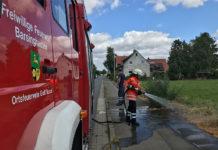 Brandgefahr nicht nur im Wald, sondern auch im Feld und an den Straßenrändern. Barsinghäuser Feuerwehrleute waren in den letzten Tagen pausenlos im Einsatz.