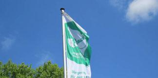 Flaggentag für den Frieden: Die Region Hannover ist am Montag, 8. Juli 2019, mit dabei.