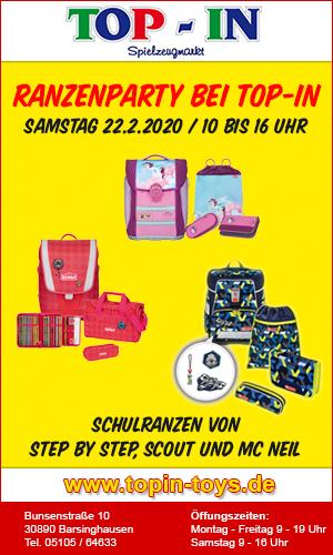 TopIn Ranzenparty 2020
