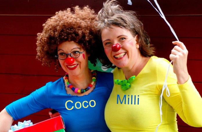 Haben Spaß: Die Clowninnen Birgit Böhm und Christine Städtler sind bei der nächsten Kulturtüte dabei.