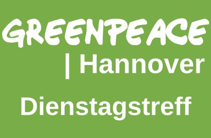 Jeden Dienstag treffen sich Mitglieder von Greenpeace Hannover im Büro Hausmannstraße 9-10.