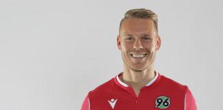 Muss nicht am Knie operiert werden: Marcel Franke, Innenverteidiger von Hannover 96. Foto: Hannover 96