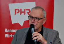 Bernd Bühmann wurde jetzt als Vorstandsvorsitzender von Pro Hannover Region bestätigt. In dieser Funktion will er an der strategischen Neuausrichtung des seit dem Jahr 2000 bestehenden Wirtschaftsnetzwerkes arbeiten. Foto: Harald Langguth