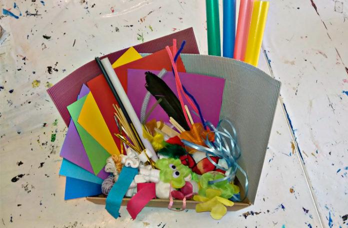 NOA NOA kommt ins Kinderzimmer: Mit diesem Kreativpaket lädt die Kunstschule Kinder bis 14 Jahre zum Kunstwettbewerb ein.