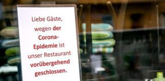 Wegen Corona geschlossen: Restaurants, Gaststätten und Hotels sind seit Wochen zu. Die Beschäftigten haben nun mit enormen Lohneinbußen zu kämpfen, warnt die Gewerkschaft NGG und fordert eine erhebliche Aufstockung beim Kurzarbeitergeld. Foto: NGG