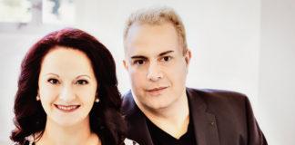 Das Klavierduo Genova & Dimitrov gibt ein NDR Kultur Foyerkonzert. Foto: Irène Zandel