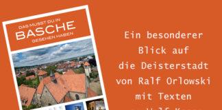 """Geschenktipp - nicht nur zum Weihnachtsfest: Das Buch """"Das musst du in Basche gesehen haben"""" von Ralf Orloswski mit Texten von Wolf Kasse."""