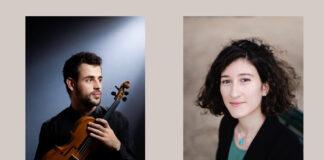 Kultursommer 2021: Der Geiger Yamen Saadi und die Pianistin Nathalia Milstein treten am 28, Juli 2021 in der Elisabethkirche Langenhagen auf.
